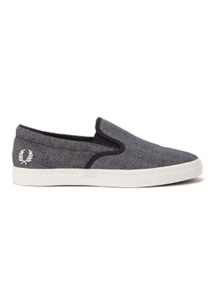 Underspin  Slip-On Printed Canvas