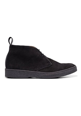 Fred Perry George Cox Popboy Boot Suede
