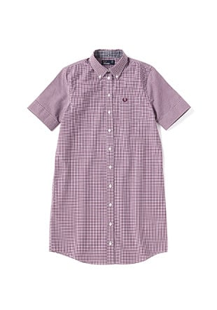 Classic Gingham Shirt Dress