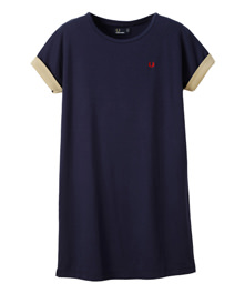 Colour Block T-Shirt Dress