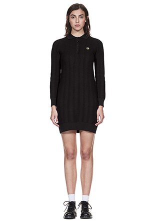 Reissues Texture Knit Dress