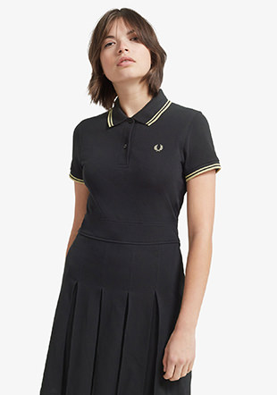 Reissues Pleated Pique Tennis Dress