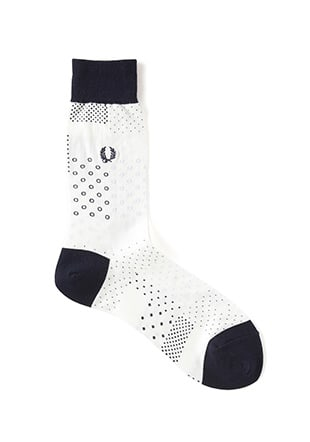 Mix Dot Middle Socks