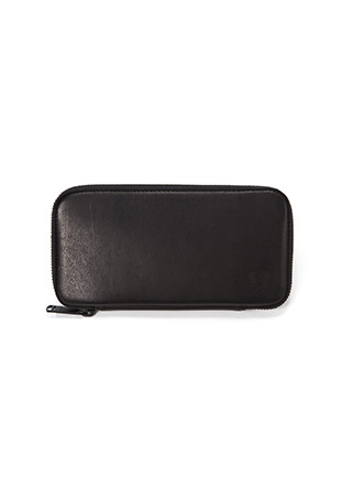 Zip Around Leather Purse