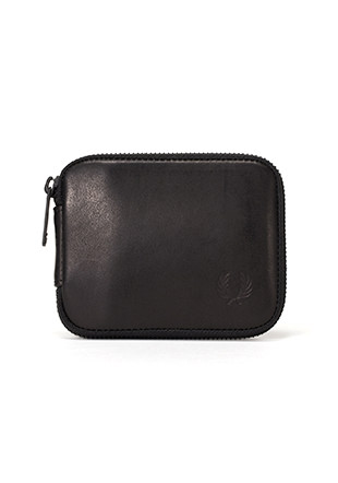 Zip Around Leather Billfold