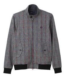 Knit Harrington Jacket
