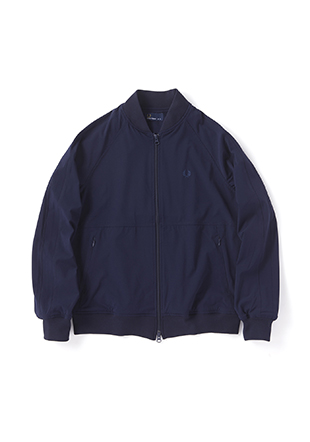 Rip-Stop Bomber Track Jacket