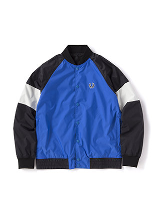 Sports Authentic Reversible Bomber Track Jacket