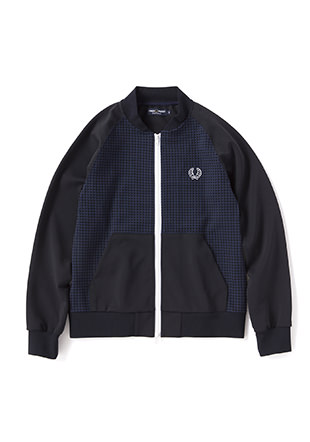 Bomber Neck Track Jacket