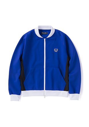 Sports Authentic Panelled Bomber Track Jacket