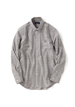 Check Shirt  (Laurel Leaf Dyed)