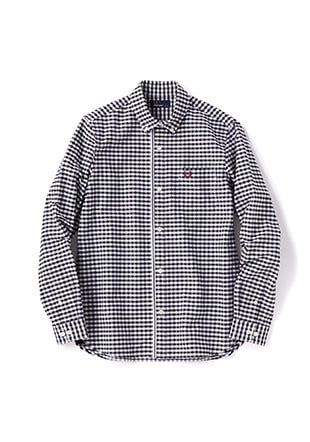 Tipped Trim Oxford Shirt