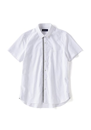 Pattern Trim S/S Shirt