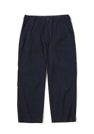 Gingham Baker Pants