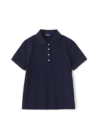 Pleated Pique Shirt