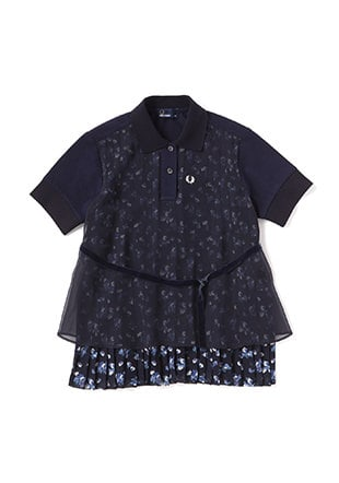 Liberty Pleated Pique Shirt