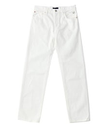 White Denim Pant