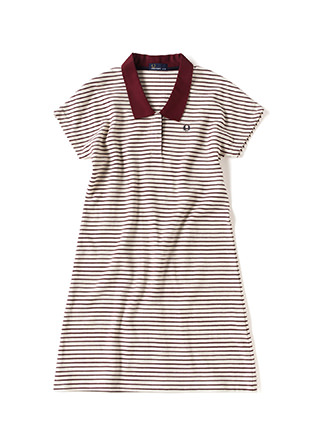 Surf Border Polo Shirt One Piece