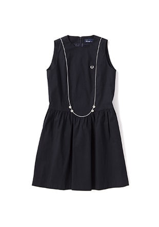 Piping Block Dress