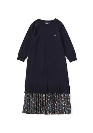 Liberty Crew Neck Knit Dress
