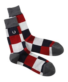Big Checker Socks