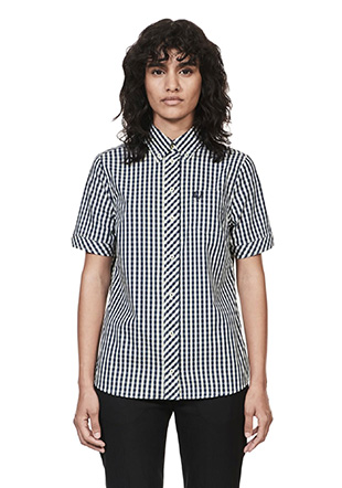 Reissues S / S Button Down Gingham Shirt