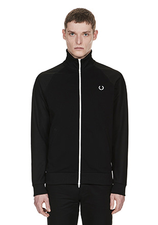 Laurel Wreath Reversed Tricot Track Jacket
