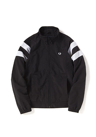 Monochrome Tennis Shell Jacket