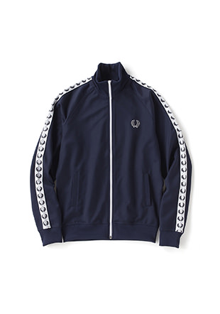 Laurel Wreath Taped Track Jacket
