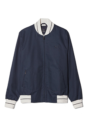 Laurel Wreath Tipped Tennis Bomber