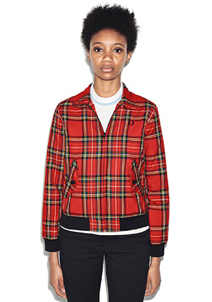 Reissues Tartan Harrington Jacket