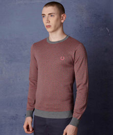 Industrial Dash Jacquard Sweater
