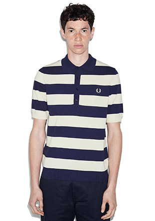 Reissues Striped Knitted Shirt
