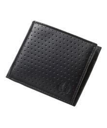 Perforated Billfold & Coin Wal