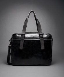 Industrial Embossed Shoulder Bag