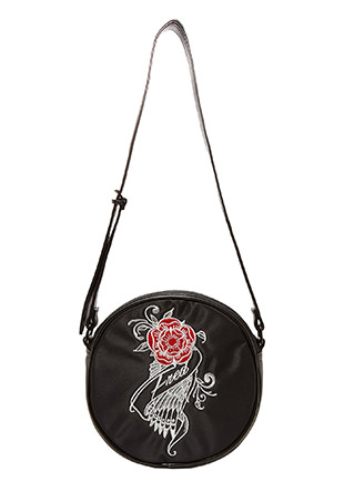 Amy Winehouse Embroidered Round Bag
