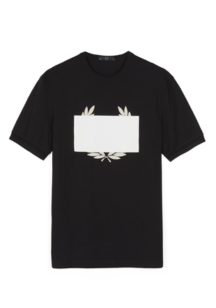 Laurel Wreath Redacted Laurel Printed T-Shirt