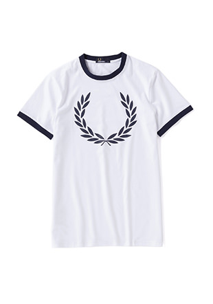 Laurel Wreath Ringer T-Shirt
