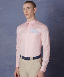 Latch Pocket Oxford Shirt