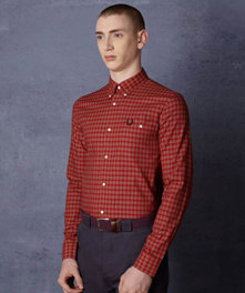 Notch Pocket Tartan Shirt