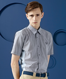 Seam Shift Puppytooth Shirt