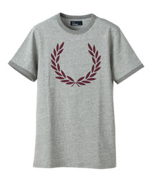 Laurel Print Ringer T-Shirt