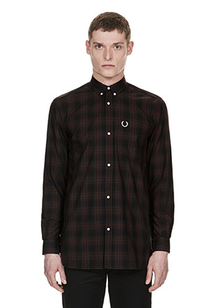 Laurel Wreath Overdyed Tartan Shirt
