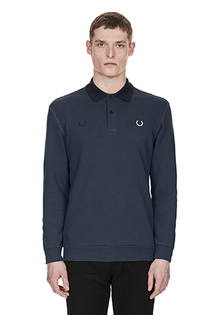 Laurel Wreath L / S Contrast Stitched Pq Shirt
