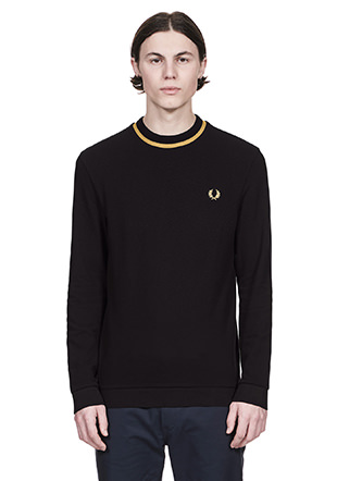 Reissues L/S Crew Neck Pique T-Shirt