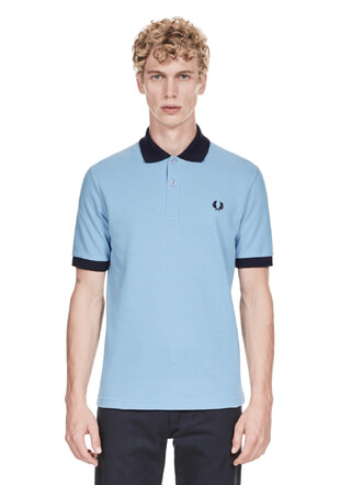 Reissues Contrast Rib Fred Perry Shirt