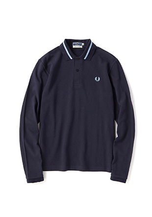 Reissues L/S Single Tipped Fred Perry Shirt