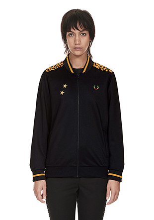 Bella Freud Leopard York Track Jacket