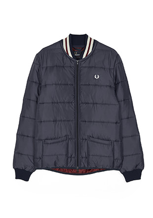 Lavenham Quilted Bomber Jacket