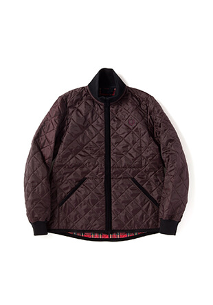 Lavenham Quilted Funnel Jacket